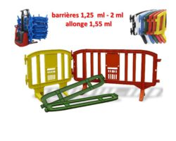 BARRIERES Plastique