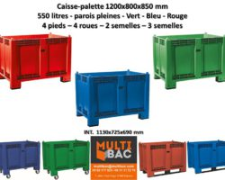 Gamme MULTICOLOR Normes Europe